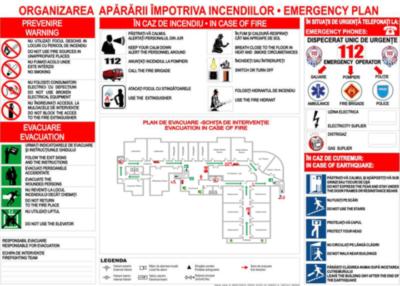 Plan de evacuare a persoanelor, Protectia Muncii, servicii ssm su